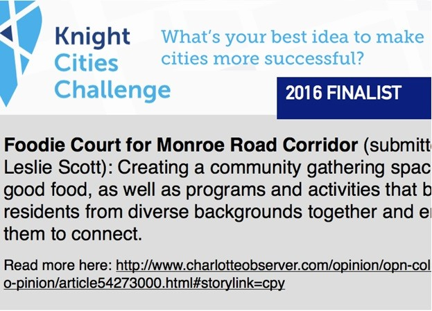 Foodie Court concept a Knight Cities Challenge grant finalist