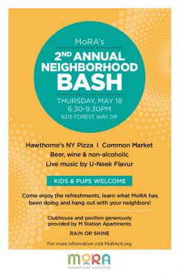 The Neighborhood Bash is back with live music, food, and beer