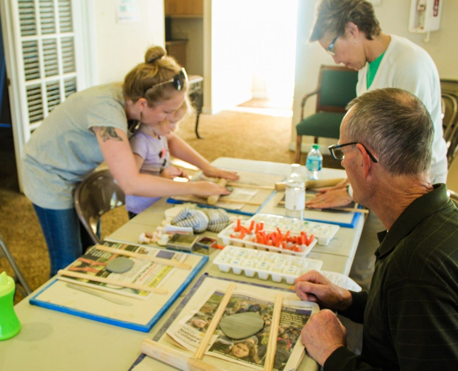 Art Tile-Making Workshops